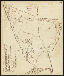 Plan of Palmer surveyed by Admatha Blodgett, dated May, 1795.