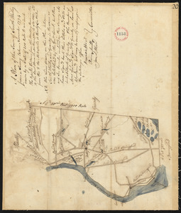 Plan of South Hadley, surveyor's name not given, dated November 1794.