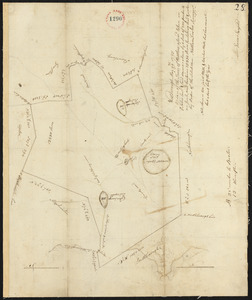 Plan of Westborough surveyed by Nathan Fisher, dated October, 1794.