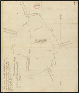 Plan of Milford, made by Joseph Sumner, dated 1795.