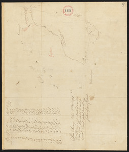 Plan of Goshen made by John Grant, dated May, 1795.