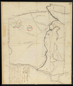 Plan of Westfield, surveyor's name not given, dated November 1794.
