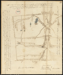 Plan of Granby surveyor's name not given, dated 1794.