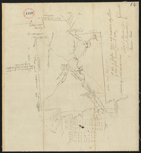 Plan of Grafton, surveyor's name not given, dated May 20, 1795.