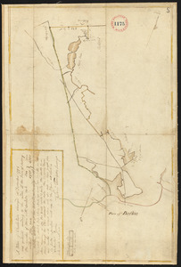 Plan of Charlestown, made by Samuel Thompson, dated December, 1794.