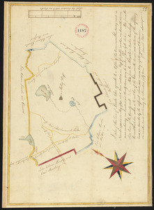 Plan of Lincoln surveyed by Samuel Hoar, dated May, 1795.