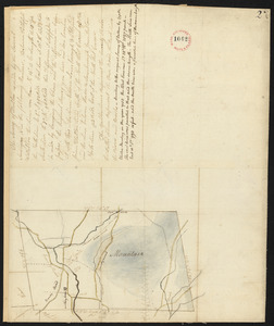 Plan of Dalton, surveyor's name not given, dated 1794-5.