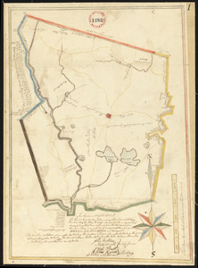 Plan of Sterling, surveyor's name not given, dated May 22, 1795.