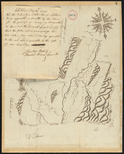 Plan of Cheshire, surveyor's name not given, dated May 22, 1795.