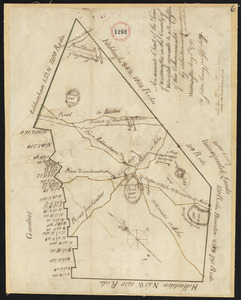 Plan of Westminster, surveyor's name not given, dated May 6, 1795.