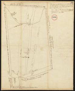 Plan of Wilbraham, surveyor's name not given, dated May 29, 1795.