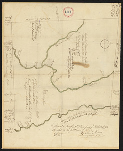 Plan of Colrain made by Phineas Munn, dated October, 1794.