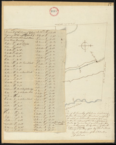 Plan of Colrain, surveyor's name not given, dated May, 1798.