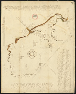 Plan of Marshfield, surveyor's name not given, dated 1794-5.