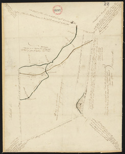 Plan of Buckfield surveyed by Thomas Joselyn, dated by 1794-5.