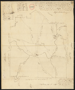 Plan of Winchendon surveyed by Moses Hale, dated May, 1795.