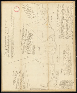 Plan of Charlemont surveyed by Jesse King, dated 1794-5.