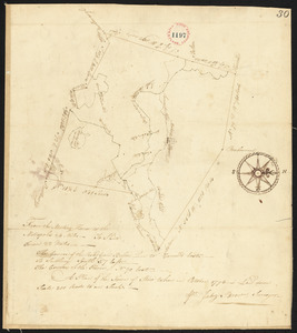 Plan of Stow surveyed by Jabez Brown, dated October 1794.