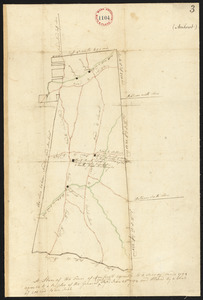 Two plans of Amherst, surveyor's name not given, dated 1794-5.
