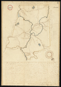 Plan of Concord, made by Ephraim Wood, dated 1794-5.
