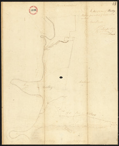 Plan of Hadley surveyed by J Denison, dated April 30, 1795.