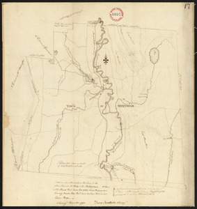 Plan of Sheffield surveyed by David Fairchild, dated November, 1794.