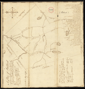 Plan of Rutland, surveyor's name not given, dated May 6, 1795.