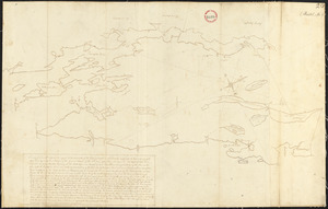 Plan of Bristol (Pemaquid) surveyed by Thomas Boyd, dated June 20, 1795.