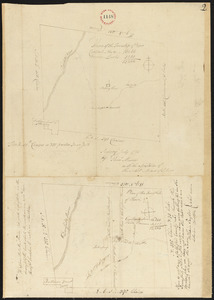Plan of Rowe surveyed by Phineas Munn dated July 1793.