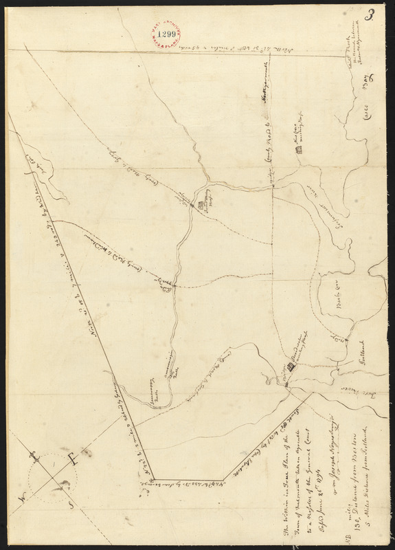 Plan of Falmouth, Maine, made by Joseph Noyes, dated 1794-5.