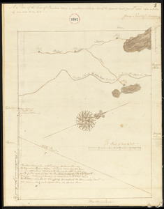 Plan of Bowdoin made by James Shurtleff dated 1794-5.