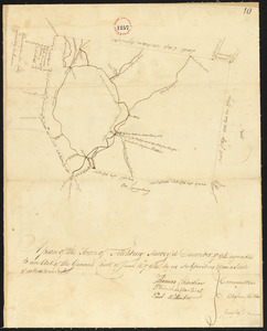 Plan of Fitchburg, surveyor's name not given, dated December, 1794.