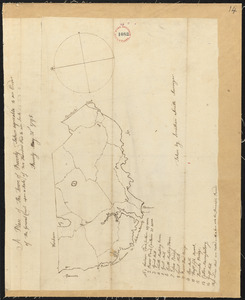 Plan of Beverly, made by Jonathan Smith, dated May 31, 1795.