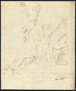 Plan of Falmouth, surveyor's name not given, dated May 20, 1795.
