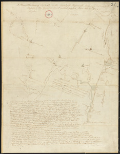 Plan of Scituate, made by Charles Turner, dated 1794-5.