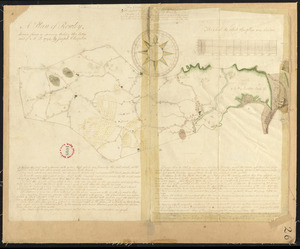 Plan of Rowley surveyed by Joseph Chapin, dated December, 1794.