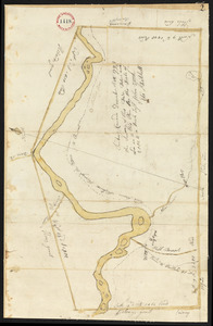 Plan of Bethel (Sudbury Canada) made by Eli Twitchell, dated December 18, 1795.