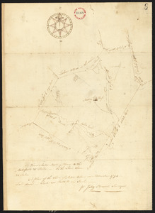 Plan of Acton, made by Jabez Brown, dated November, 1794.