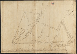 Plan of Hebron, surveyor's name not given, dated December 1794.