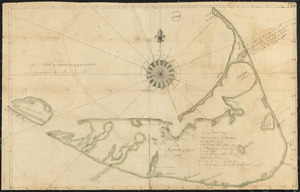 Plan of Nantucket, surveyor's name not given, dated May 1, 1795.