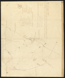 Plan of Danvers surveyed by Gideon Foster, dated May, 1795.