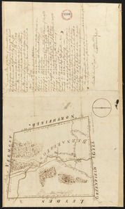 Plan of Bernardston, surveyor's name not given, dated November, 1794.