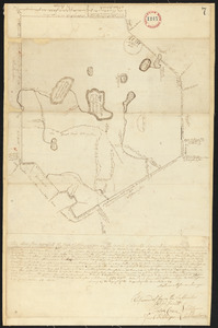 Plan of Ashburnham surveyed by Matthias Mossman, dated 1794-5.
