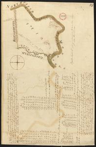 Plan of Gill, made by Seba Allen, dated November, 1794.