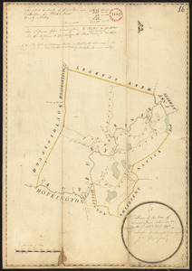 Plan of Framingham, made by Lawson Buckminster, dated December, 1794.