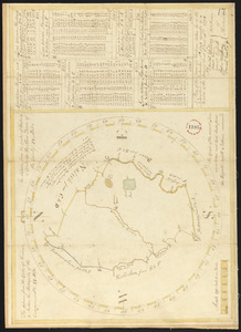 Plan of Sherborn, surveyor's name not given, dated September 1794.