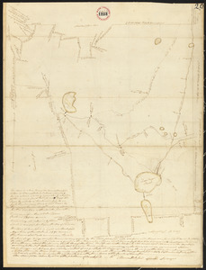 Plan of Brookfield surveyed by Thomas Hale Jr., dated November, 1794.