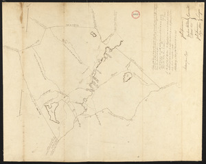 Plan of Andover, surveyor's name not given, dated 1795.