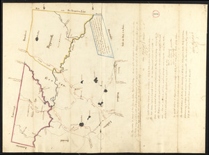 Plan of Groton, Pepperell and Shirley, made by Oliver Prescott, Jr., dated September, 1794.