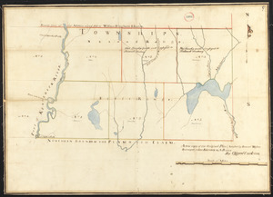 Plan of six townships in Ranges 1 and 2 north of Plymouth Claim, surveyor's name not given, dated February 15, 1794.